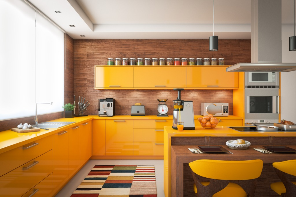 domestic kitchen interior picture id957053734