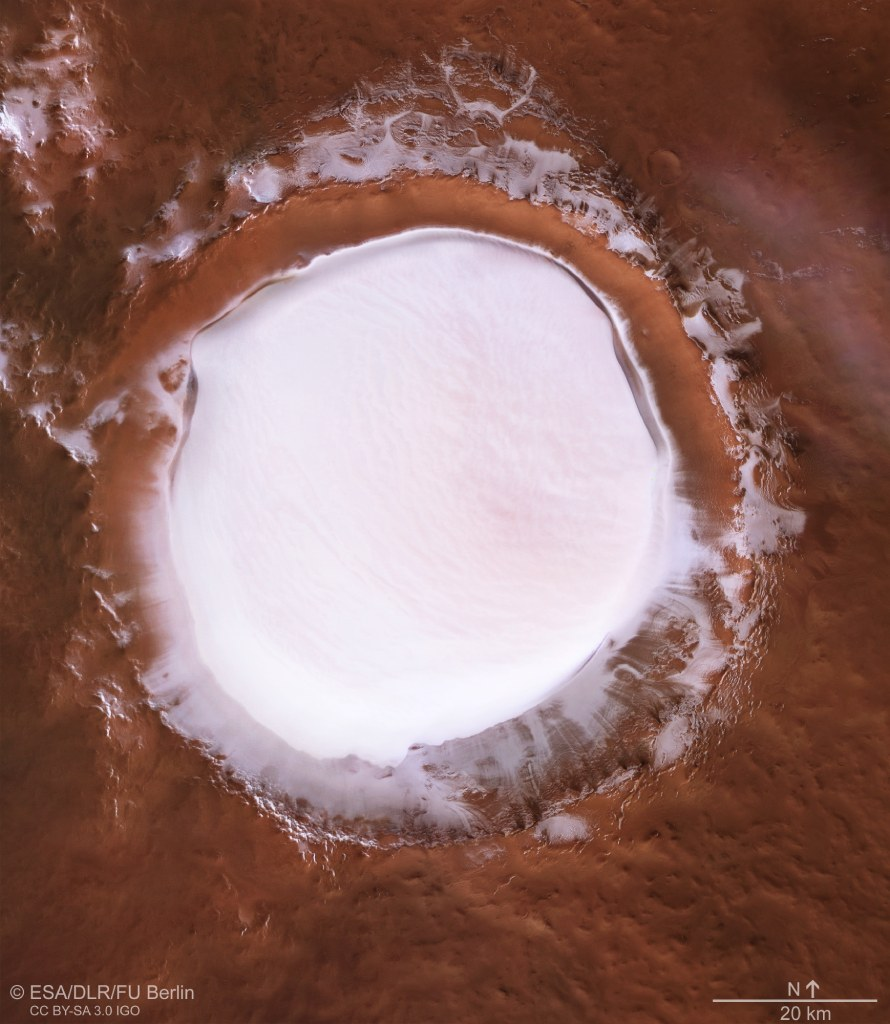 ice on mars 2 image