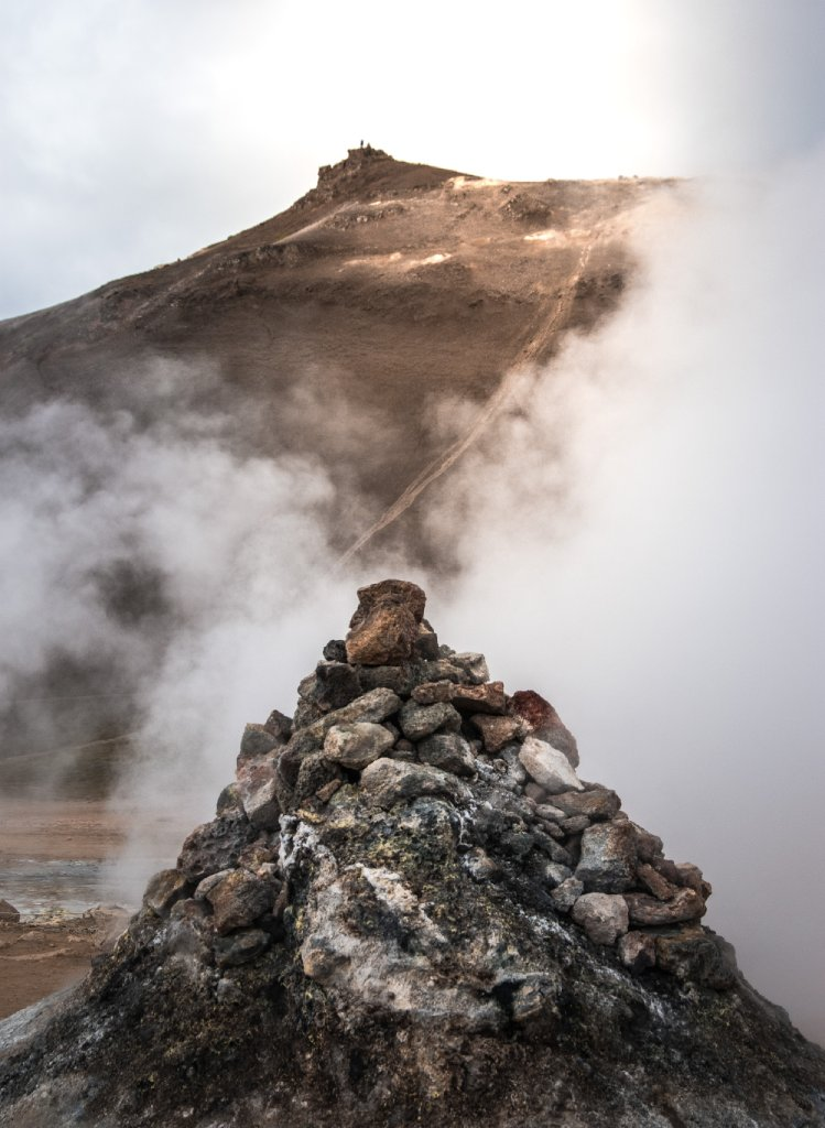 iceland volcano tourism image
