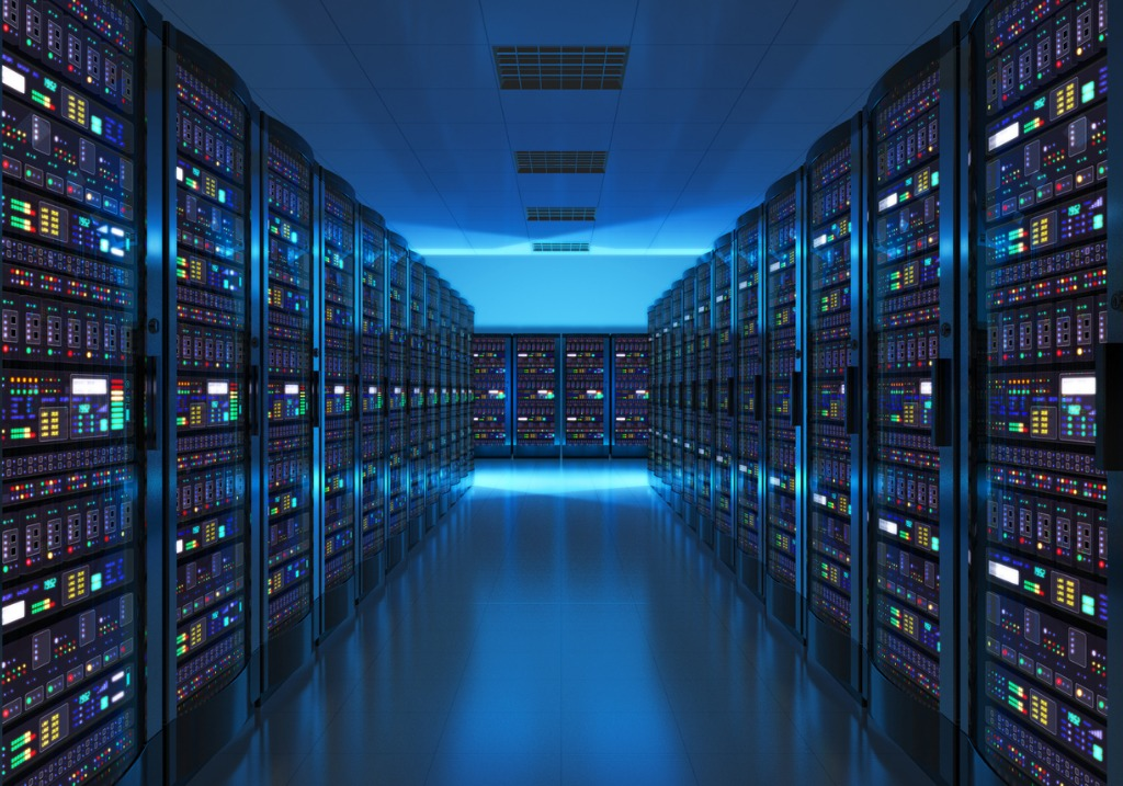 server room interior in datacenter picture id482872096 image