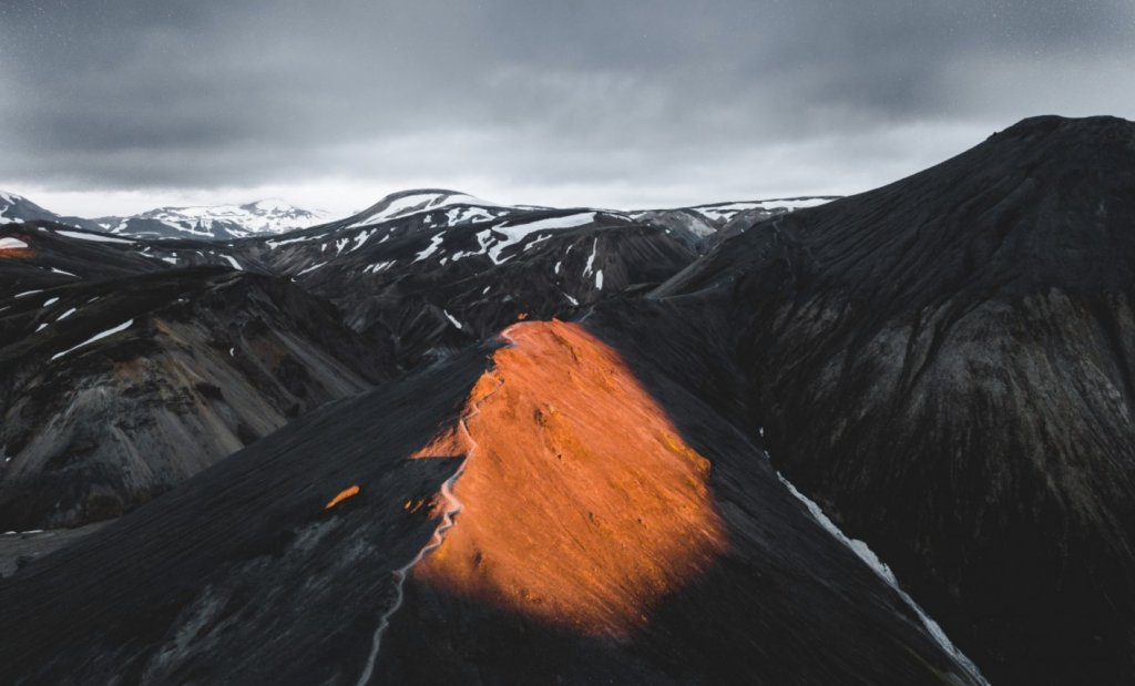 drone picture mountains image