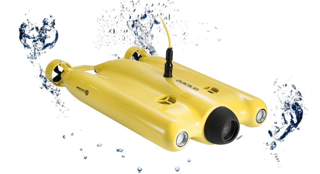underwater drone image