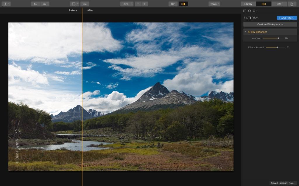 ai sky enhancer image