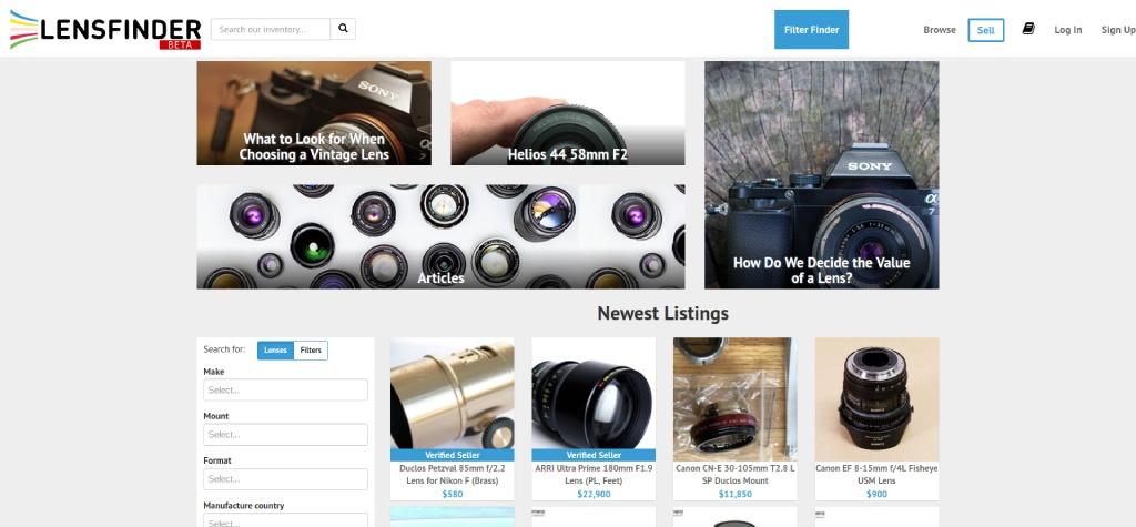 best lenses for beginners image
