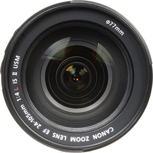 canon 24 105mm front image