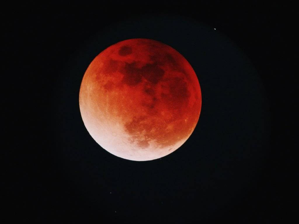 super blood moon image