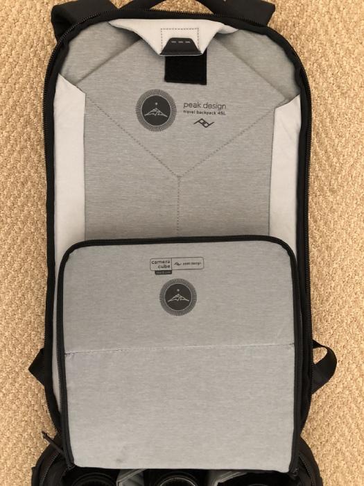 peak design travel backpack modular image