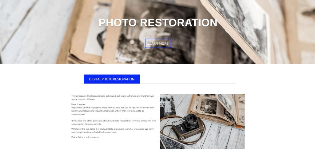 pauls photo photo restoration image
