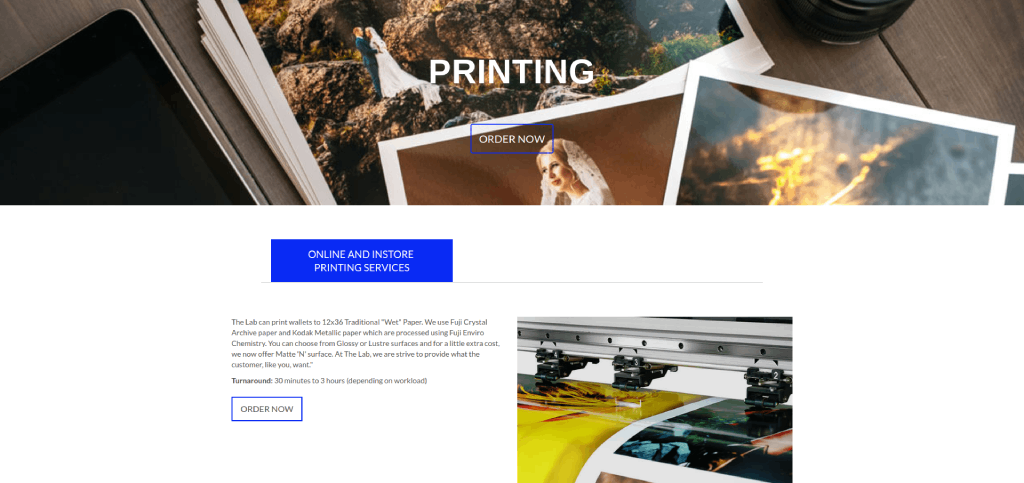 pauls photo printing lab image
