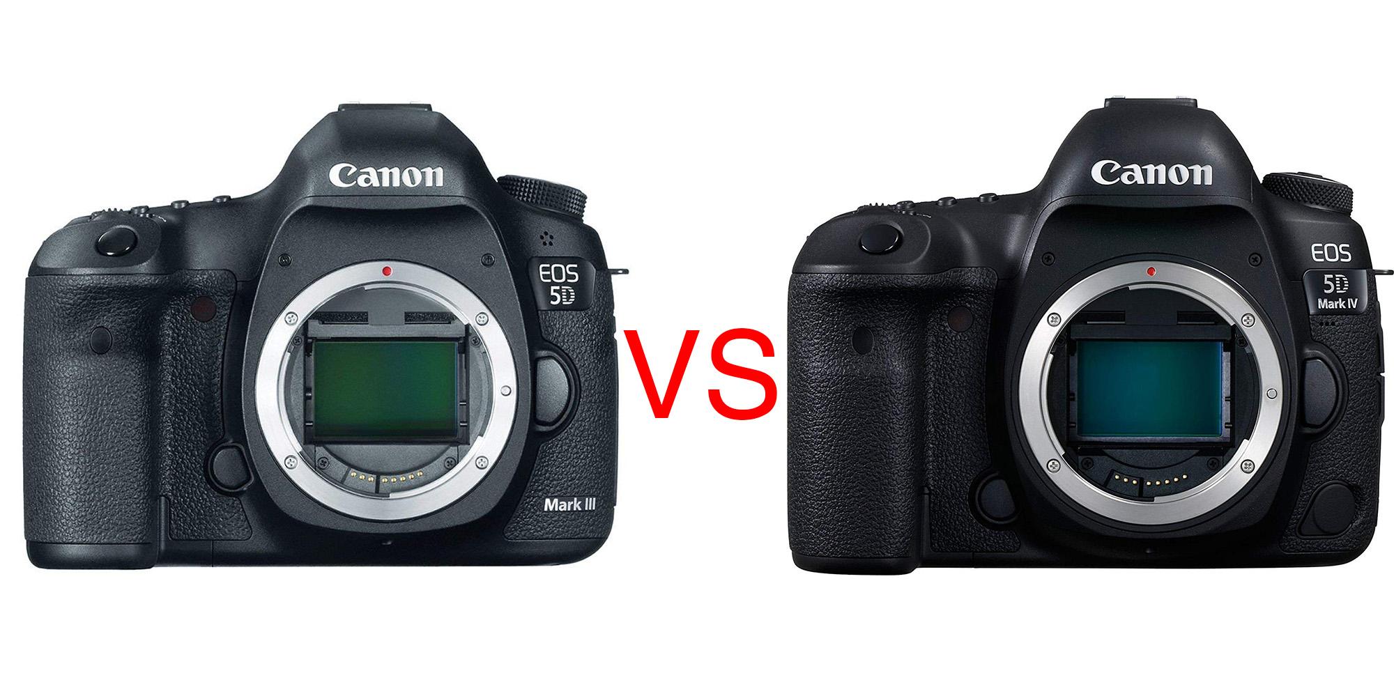 canon 5d iii vs canon 5d iv
