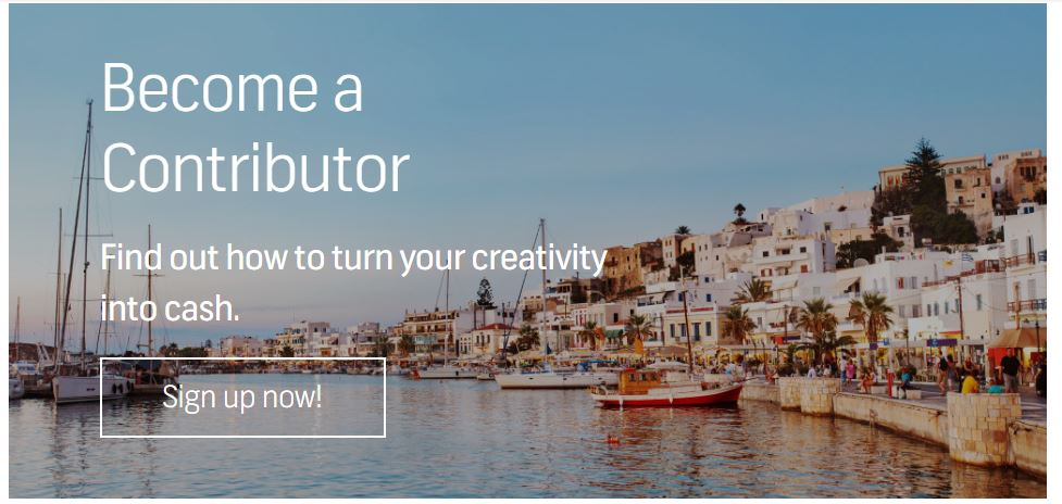 shutterstock become contributor image