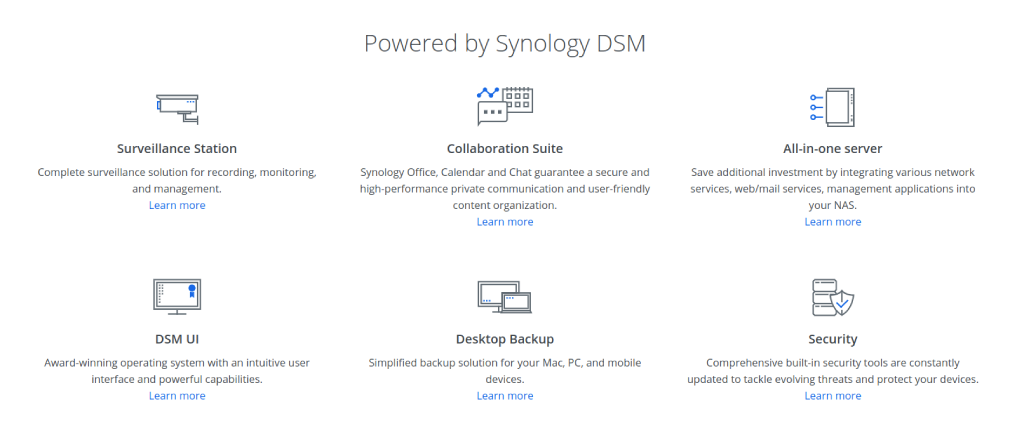 Synology DS918 ease of use 3 image