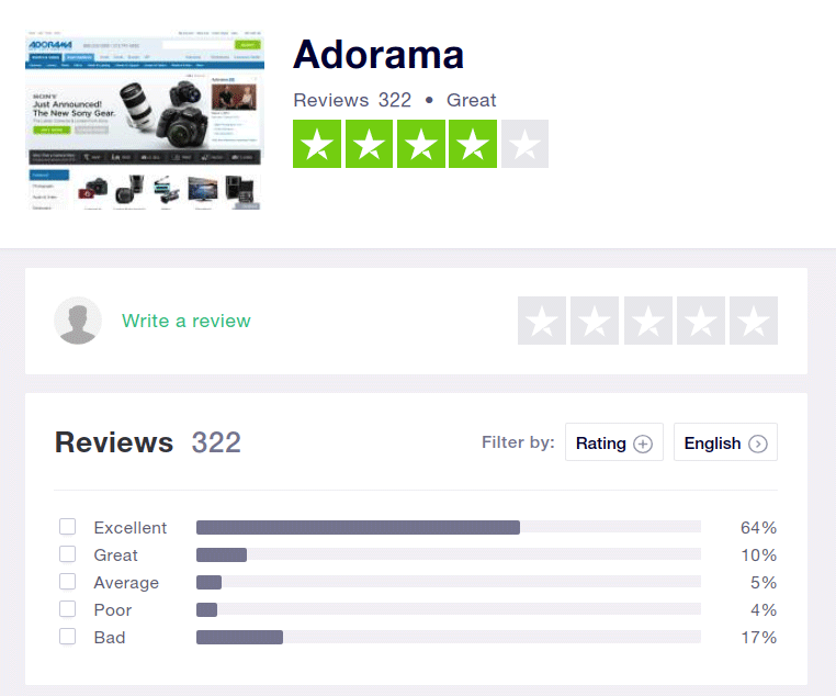 adorama reviews image