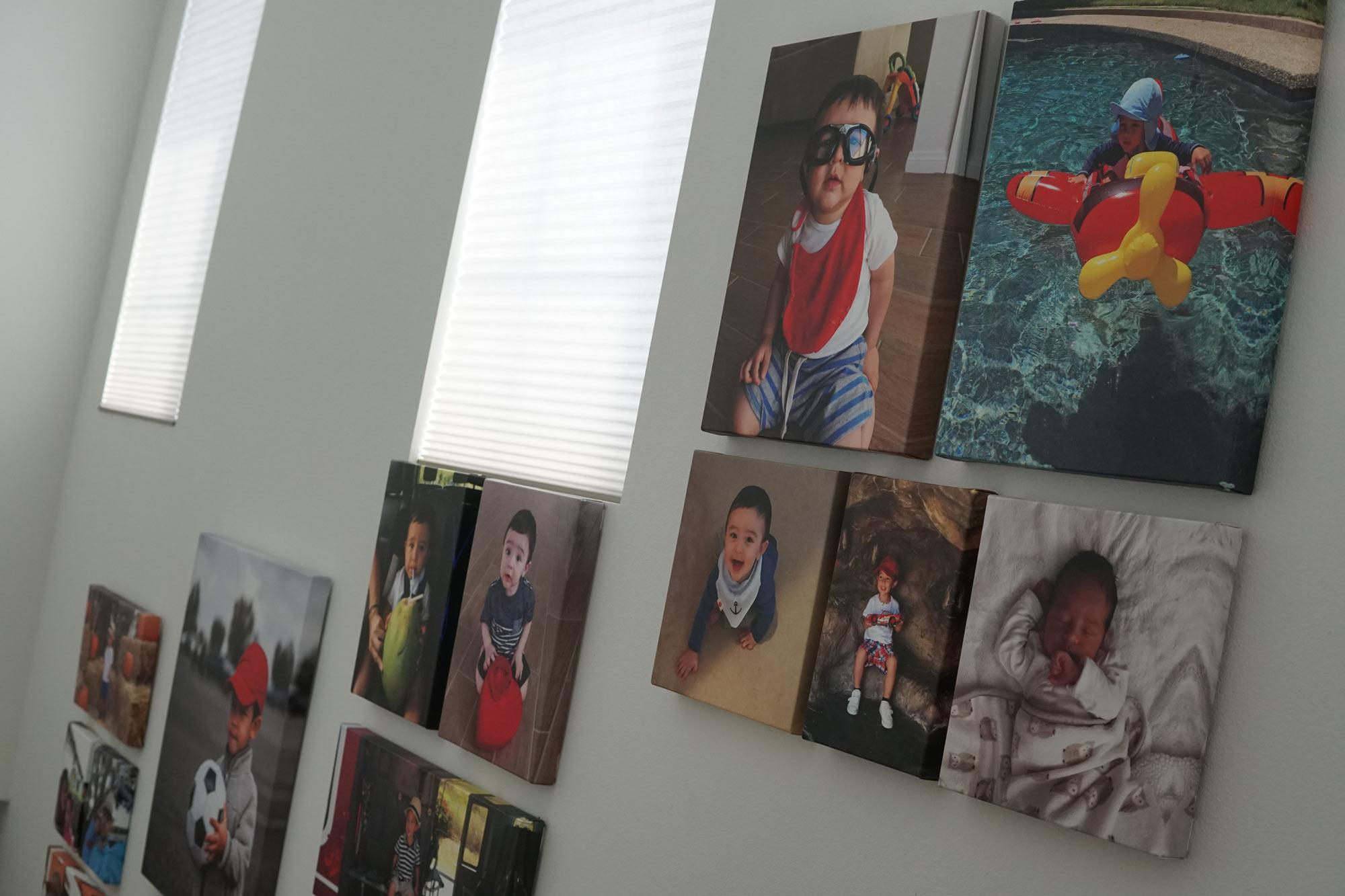 how to display family photos 4 image