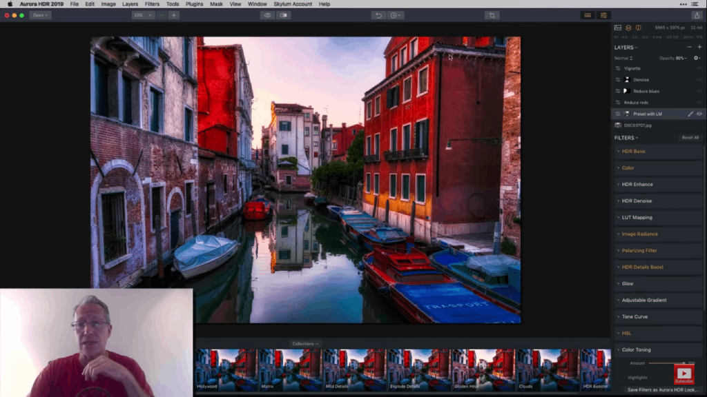 sample workflow for hdr editing looks 1 image