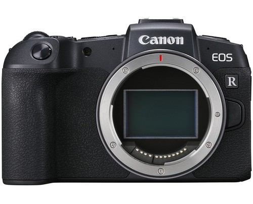 canon eos rp front image
