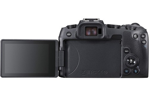 canon eos rp lcd image