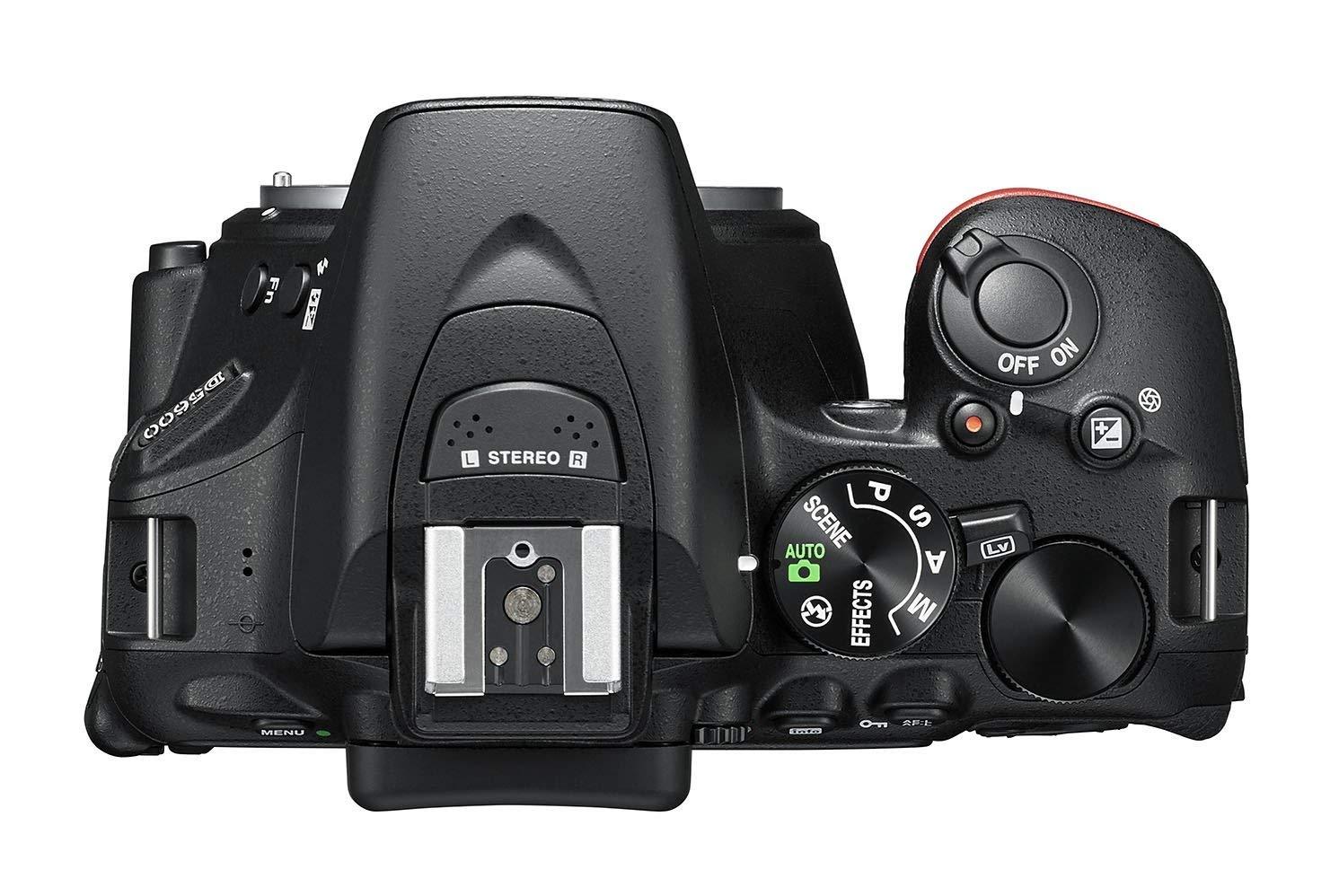 Nikon D5300 vs Nikon D5600 Connectivity Comparison image