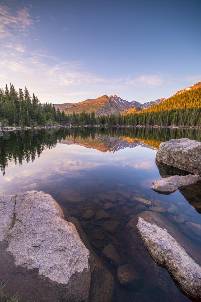 how to compose landscape photos  image