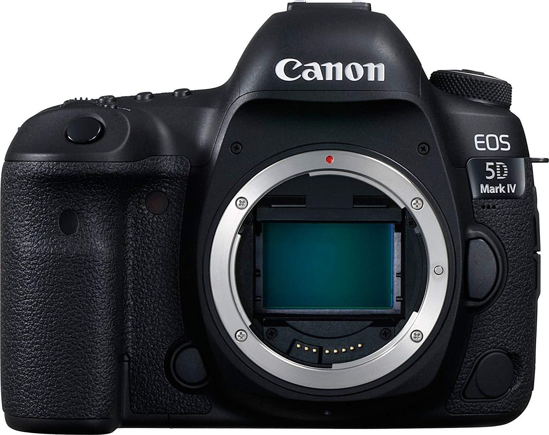 Canon 5D Mark IV Canon EOS R comparison image