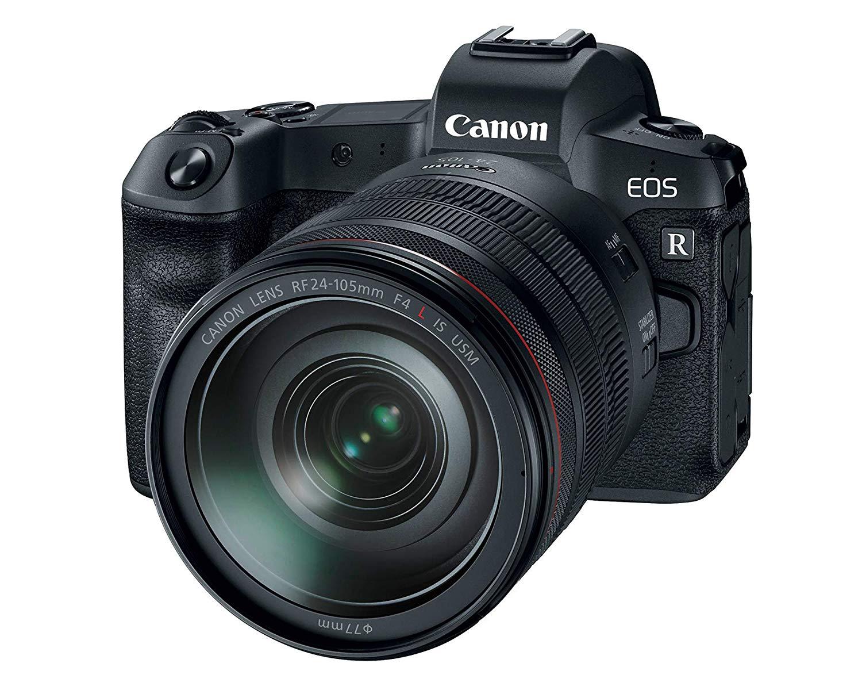 Canon EOS R vs Canon 5D Mark IV design image