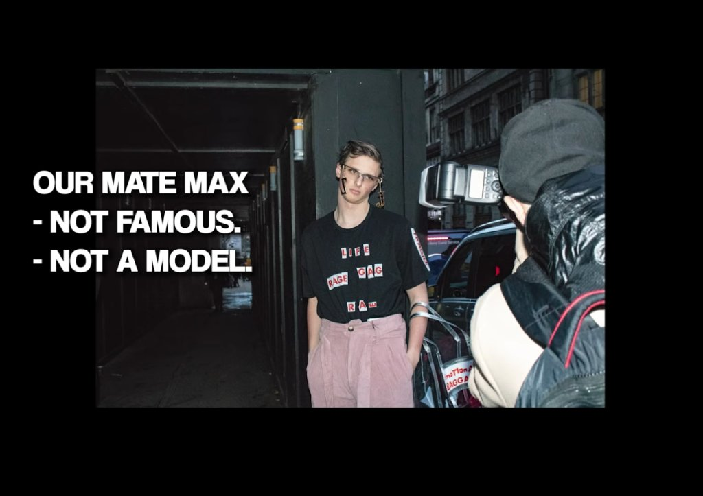 "Nerdy ""Model"" in Insane Outfits Tricks Fashion Week Photographers"