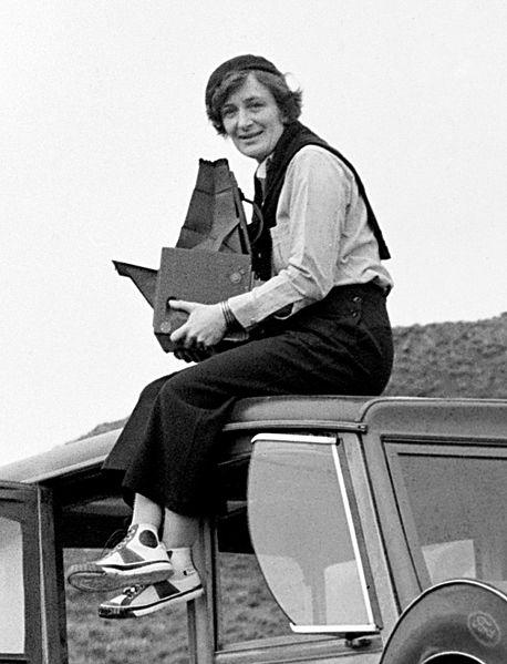 458px Dorothea Lange 1936 portrait image