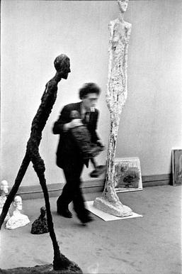 Photograph of Alberto Giacometti by Cartier Bresson image