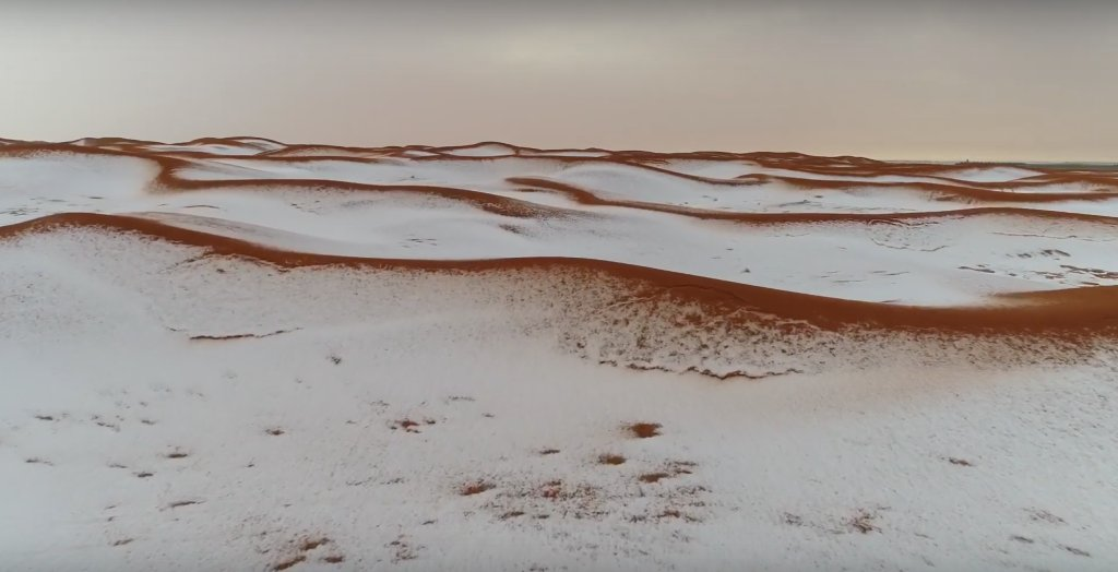 snow desert image