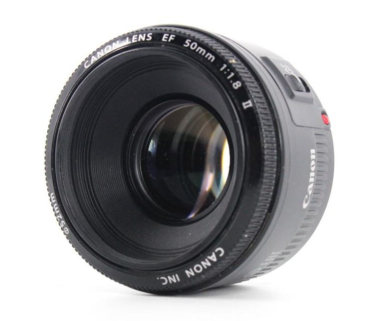 canon 50mm f1.8 II front image
