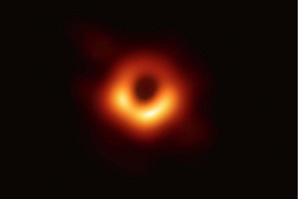 black hole picture image