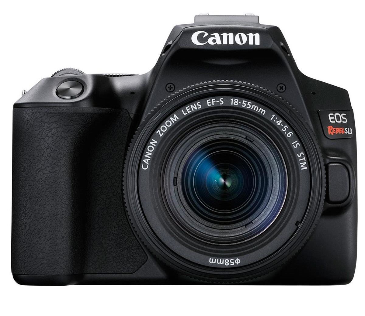 canon rebel sl3 front image