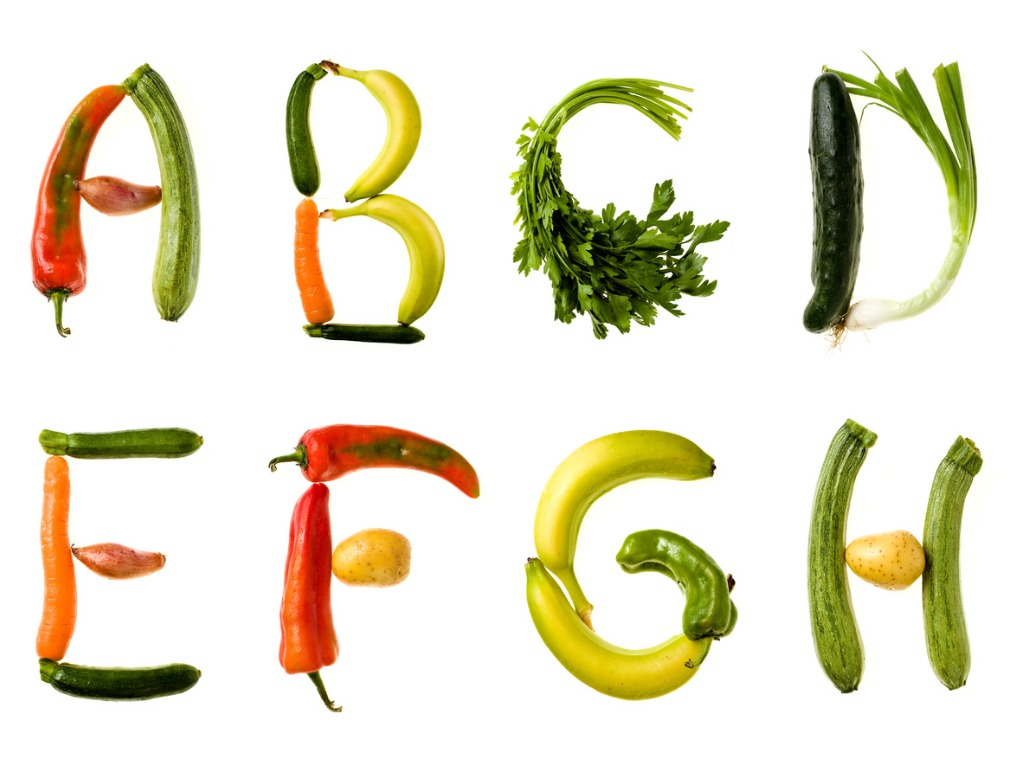 healthy food alphabet picture id157381212 image