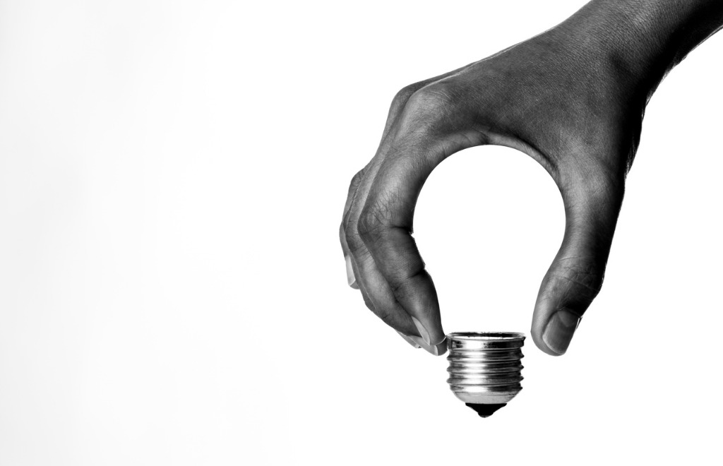 light bulb in hand picture id1039087980 image