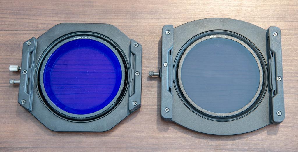 nisi v6 100mm filter holder vs nisi v5 100mm filter holder back image