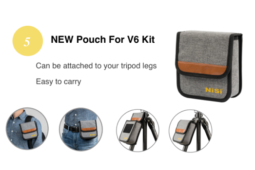 v6 review pouch image