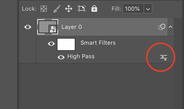 how to use a high pass filter step 5.1 image