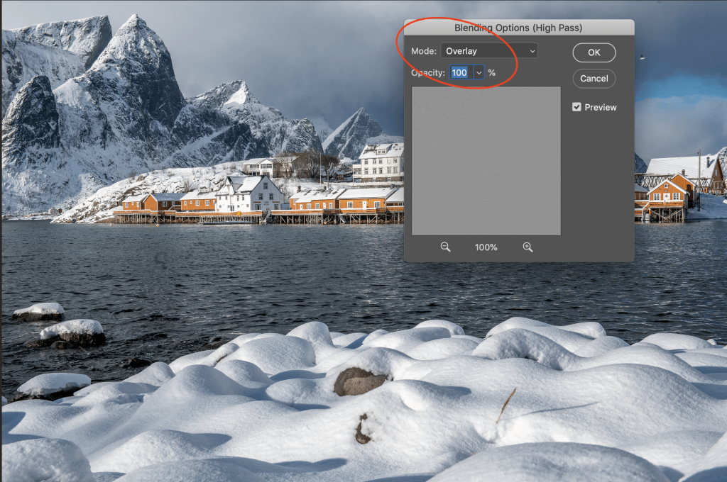 how to use a high pass filter step 5.2 image