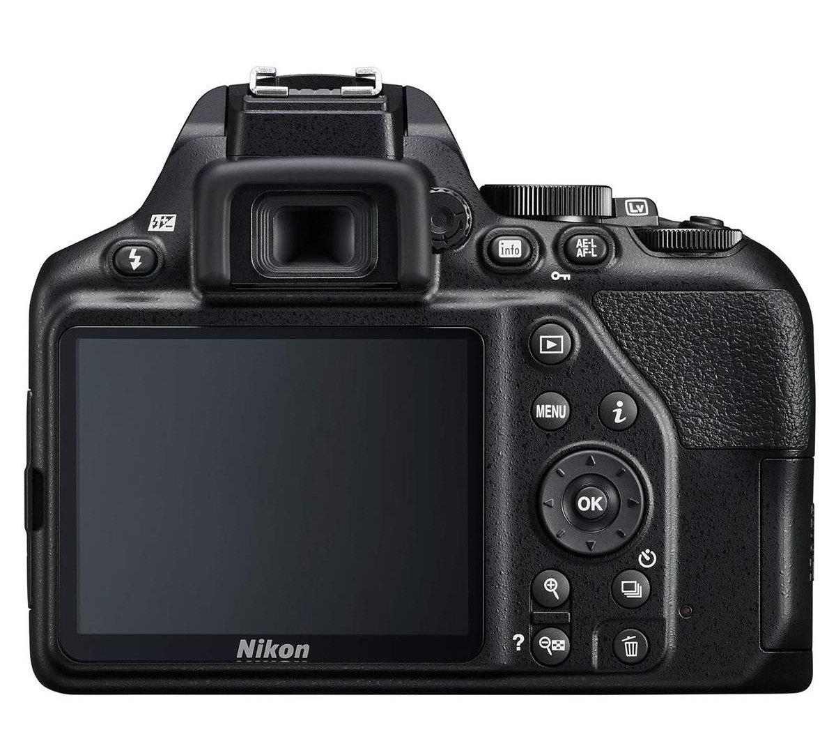 best entry level camera for beginners nikon d3500 back image