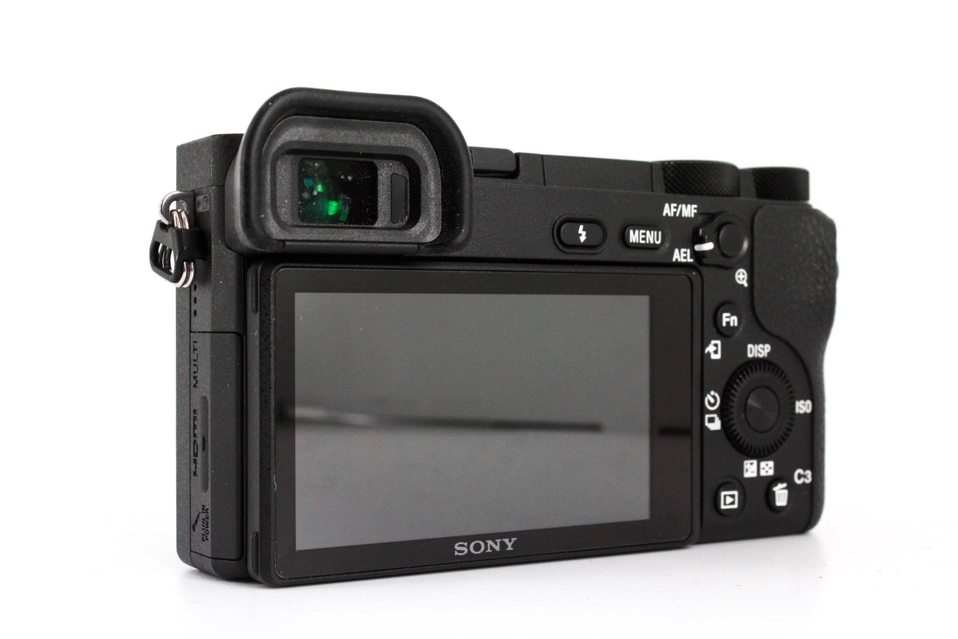best sony cameras for portraits a6500 back image