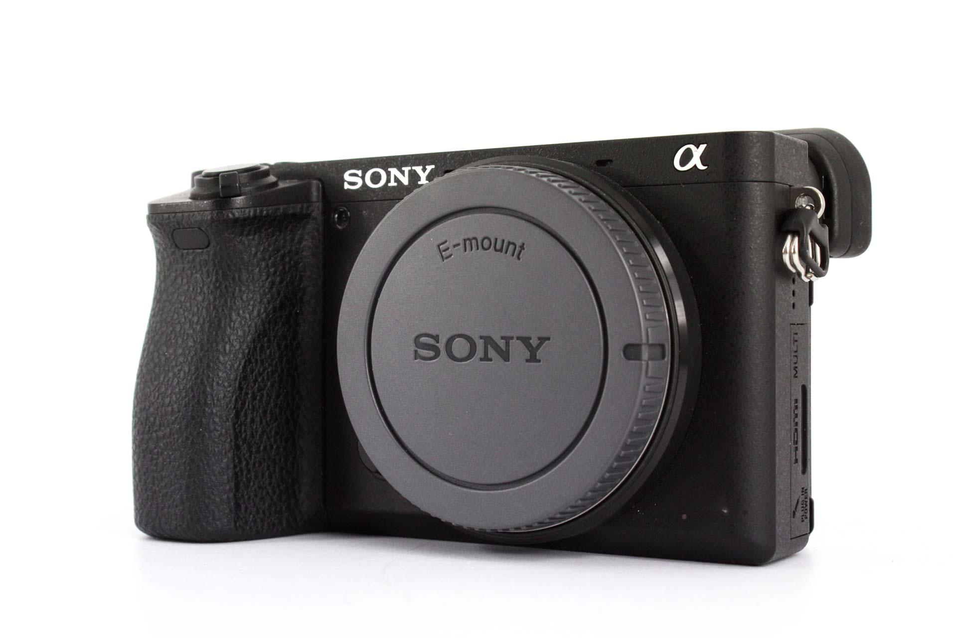 best sony cameras for portraits a6500 front image