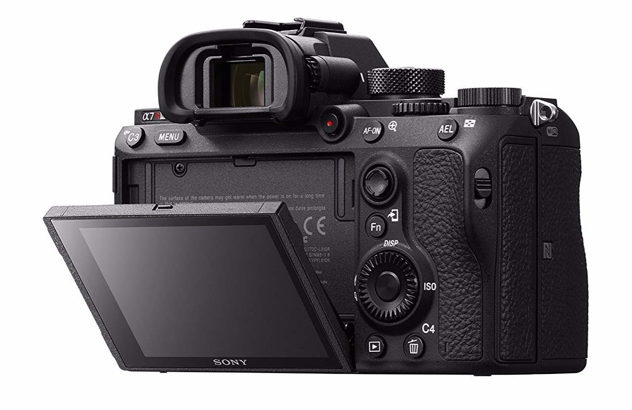 best sony camera for portraits a7r III back image
