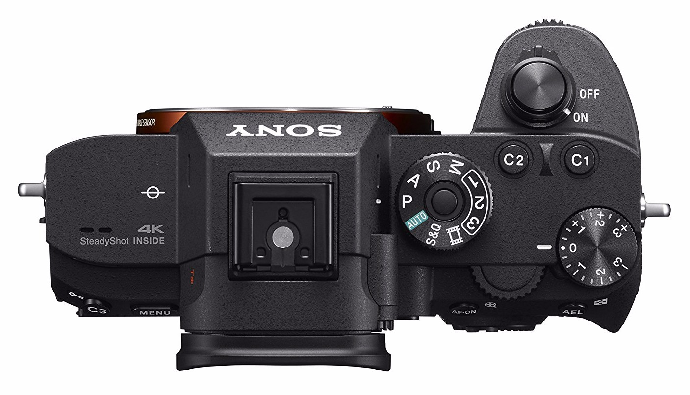 best sony camera for portraits a7r III top image