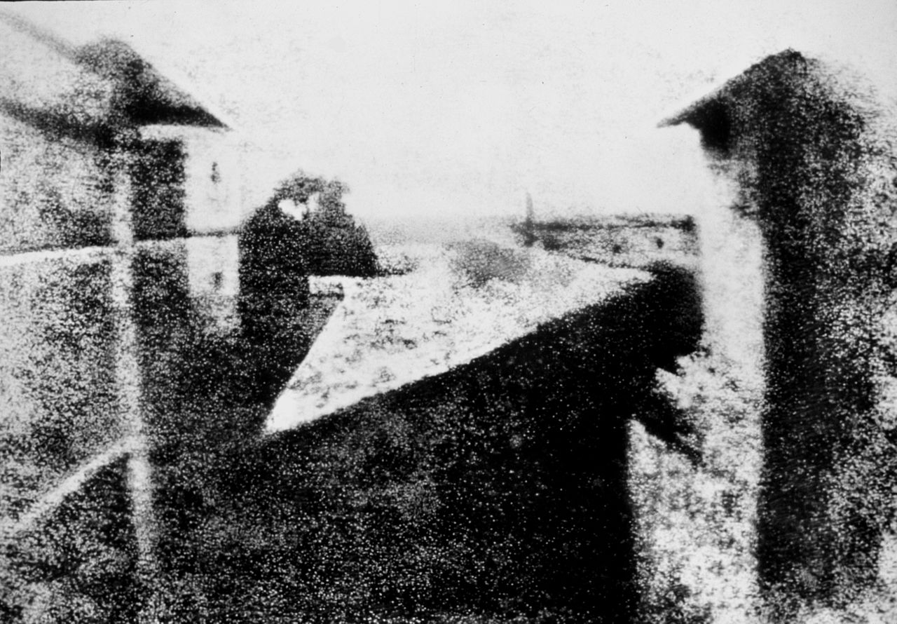 View from the Window at Le Gras Joseph Nicéphore Niépce image