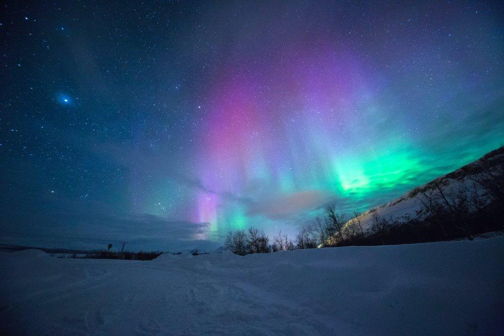 northern lights photo image