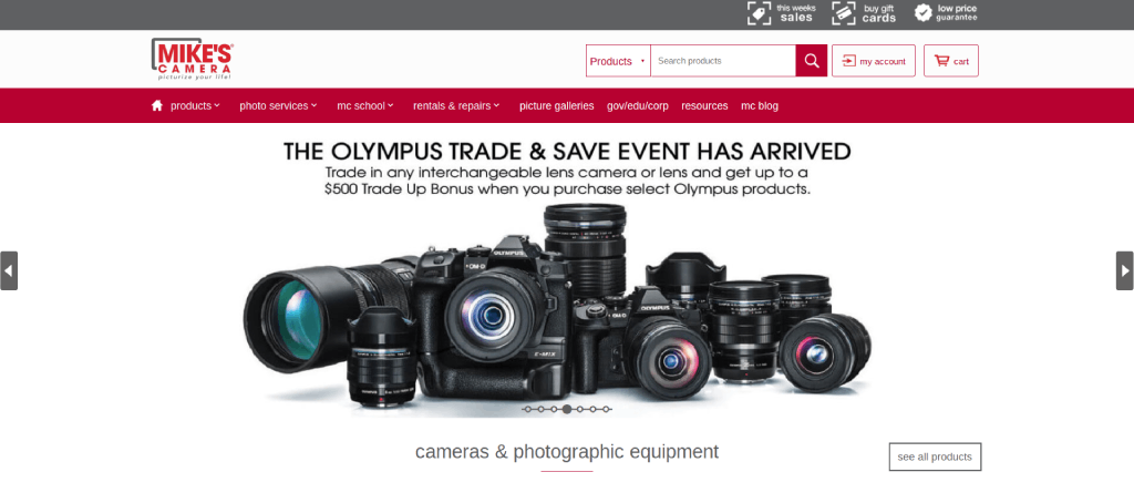 best camera store near me mikes camera image