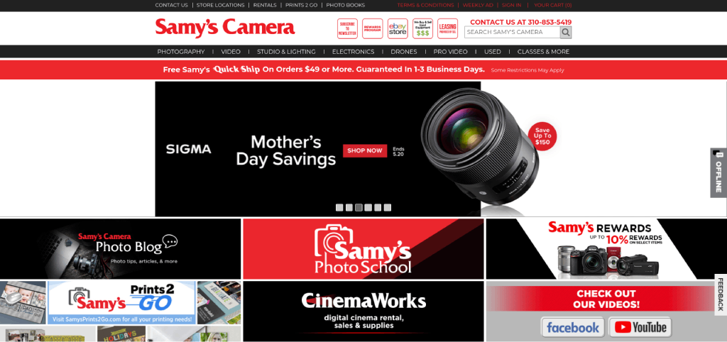 best camera store near me samys camera image