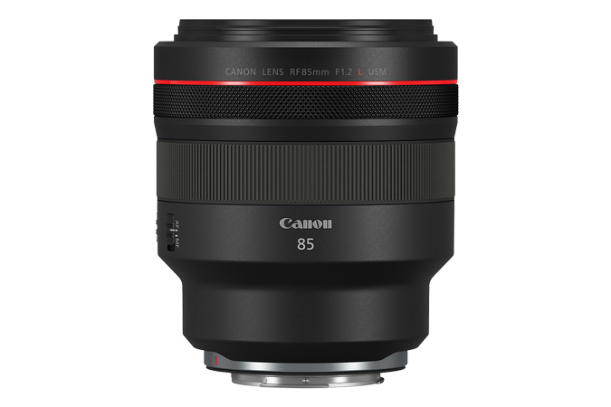 canon rf 85mm f1.2L side image
