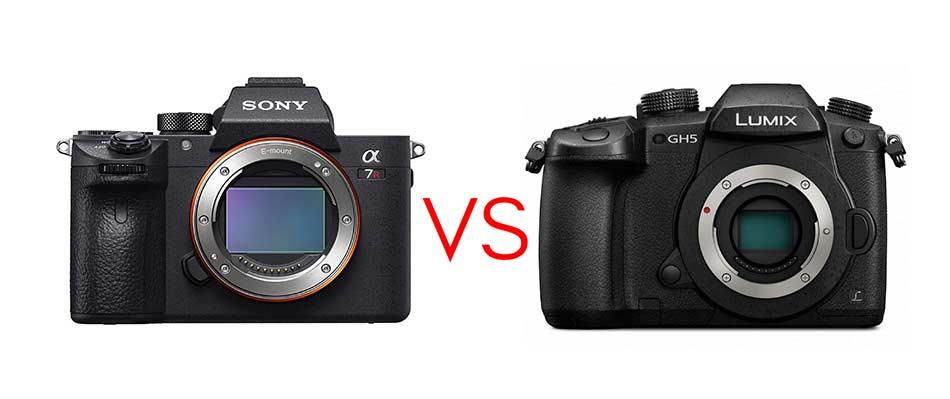 sony a7r iii vs panasonic gh5 image