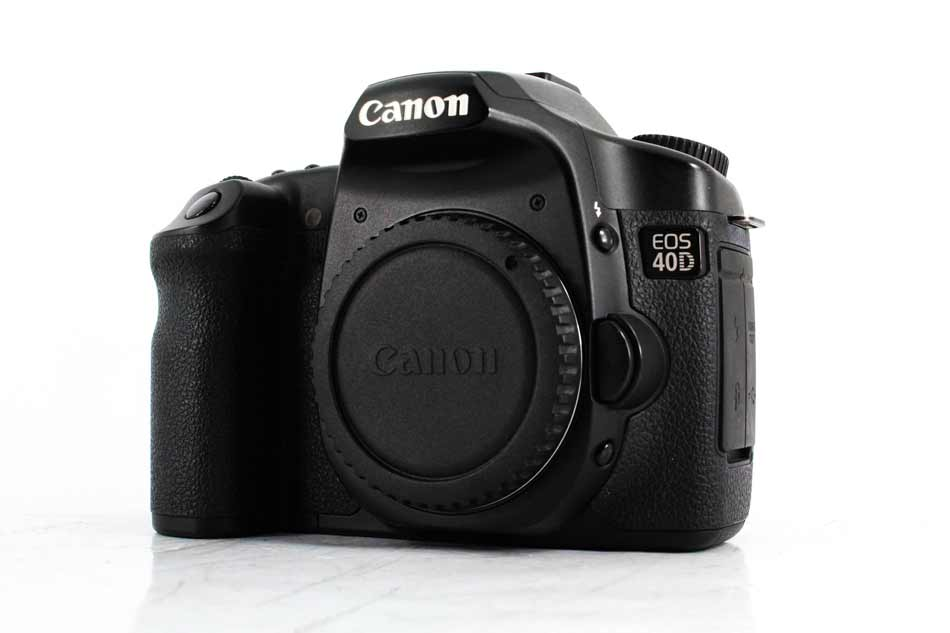 best used cameras under 100 40d front image
